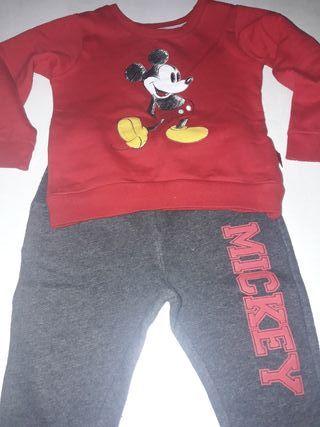 Conjunto de niño mickey mouse