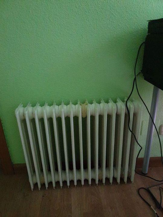 radiador hierro