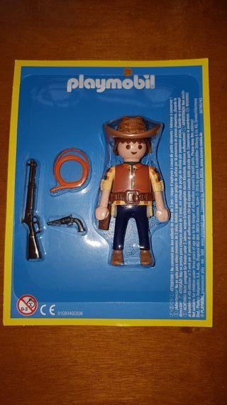 playmobil aventura historia vaquero cowboy oeste