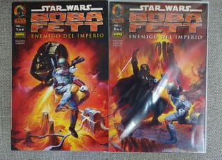 Comics Star Wars Enemigo del imperio