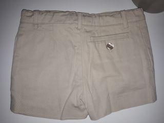 pantalón corto niño talla 4