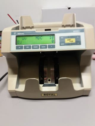 máquina contadora billetes
