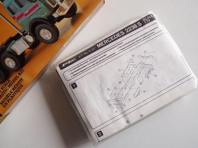 Maqueta de camión