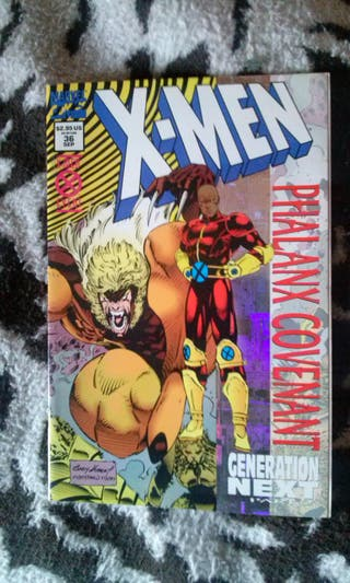 X-Men #36 Holofoil Cover (1994, 1st Synch)