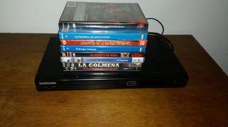Reproductor DVD + Pelis