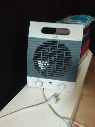 Calefactor eléctrico. URGE