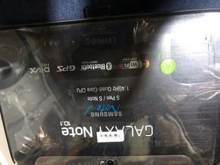 Tableta Samsung galaxy note 10.1 + carcasa cuero