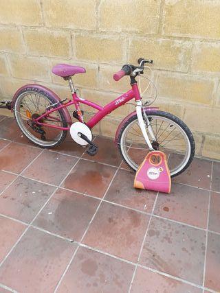 Bicicleta infantil decathlon