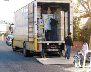 transportes y mudanzas retirada de escombros