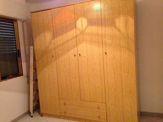 armario 4 puertas y dos cajones