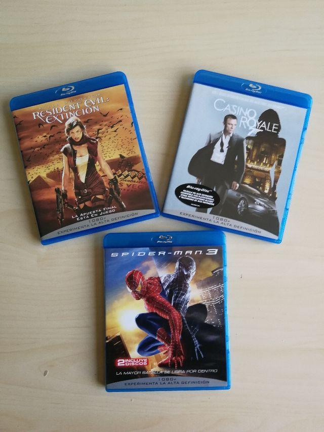 Películas Blu-ray.