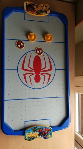 Air Hockey Spiderman