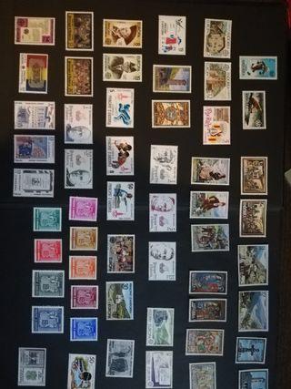 lote sellos ANDORRA ESPAÑOL AL-3