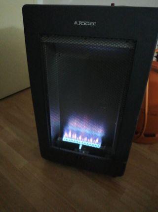 Estufa calefacción calentador de gas