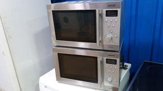 microondas inox con grill