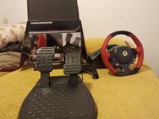 volante para xbos one Ferrari 458 spaider