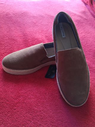 zapato de piel massimo dutti