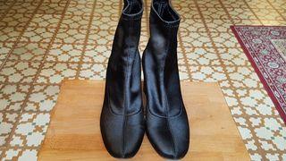 botas /botín/ botines calcetín elástica