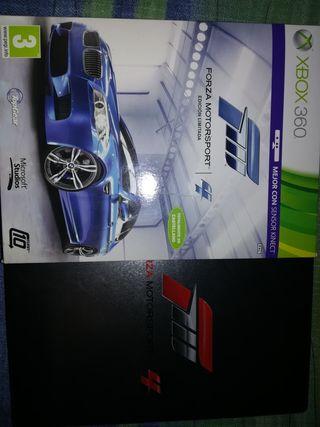 Xbox 360 Roja con juegos