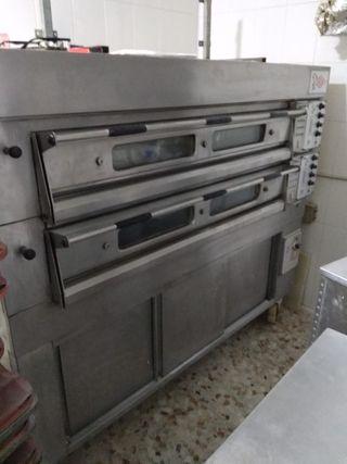 horno industrial de pastelería