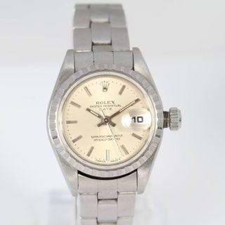 Oyster Perptual Reloj Rolex Por 69240 E330758 De Mano Date Segunda qzMVLGSUjp
