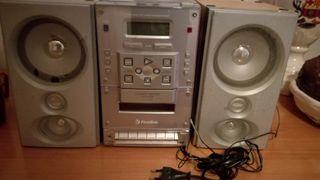 Radio Cd con altavoces