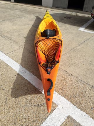piragua kayak de una plaza