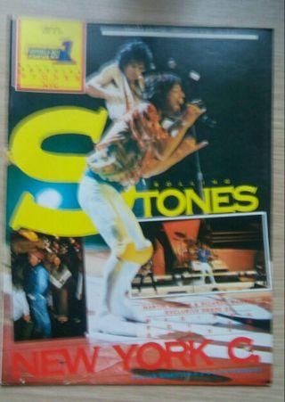 Revista Popular 1 especial A 31 Rolling Stones
