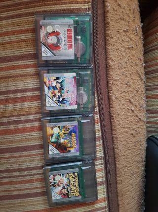 Juegos de GAMEBOY, NDS,3DS