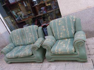 sofas de dos plazas uno de una plaza