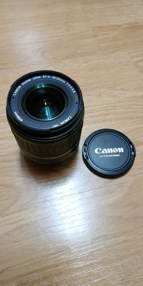 Objetivo Canon EF-S 18-55mm 1:3.5-5.6 USM
