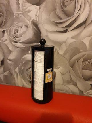 acrylic cotton wool pad holder