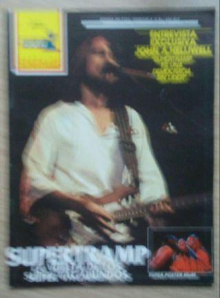 Revista Popular 1 A 45 Supertramp