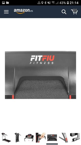 Fitfiu MC-100 Cinta de Correr Plegable, Unisex Adu
