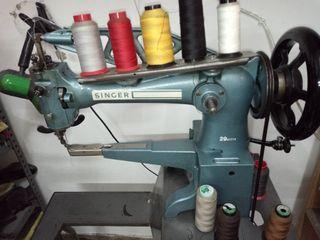 se vende maquina de coser piel. zapatero