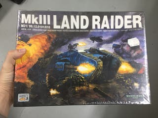 Mk III Land Raider warhammer