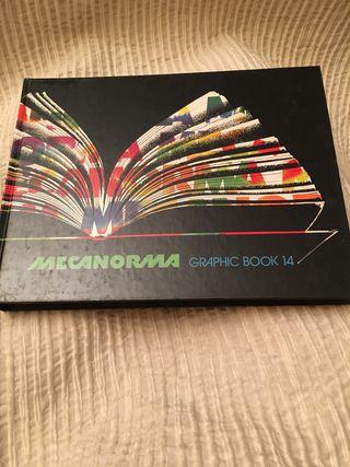 Libro Mecanorma graphic book 14