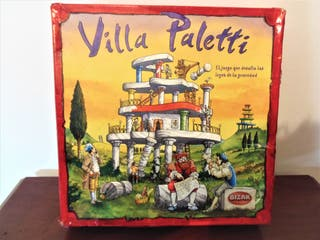 Divertido juego Villa Palletti de Bizax
