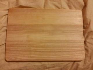 tabla de pizarra y madera