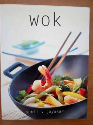 Libro cocina wok Sunil Vijayakar