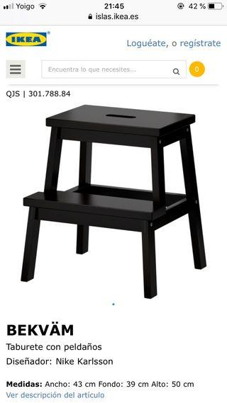 Taburete escalón Ikea