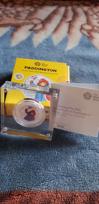 padding bear sliver proof coin