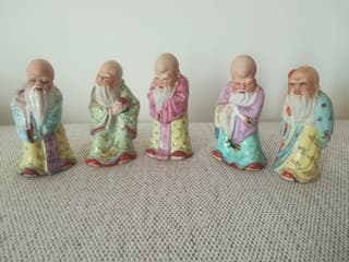 Sabios porcelana china
