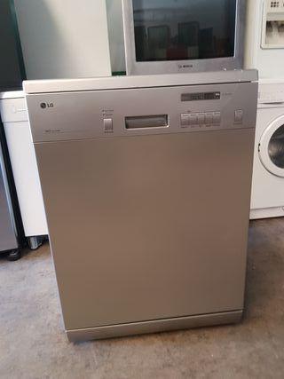 Lavavajillas LG metalizado