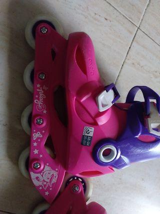 patines en línea para niña
