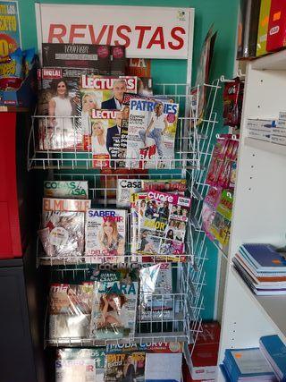revistero expositor revistas