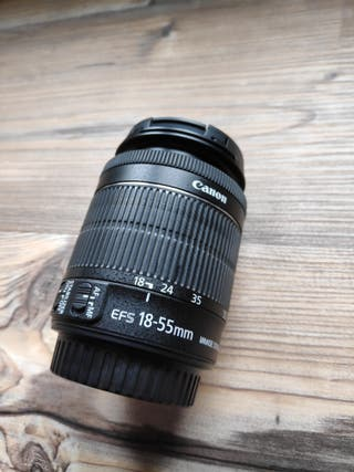 objetivo canon 18-55mm