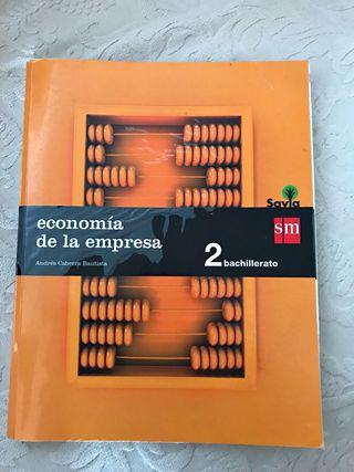 Libro de economía 2º bachillerato (Sm)