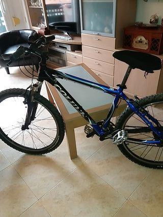 bicicleta montaña. con 8 veloc.