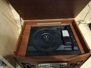 Reproductor y grabador de vinilo
